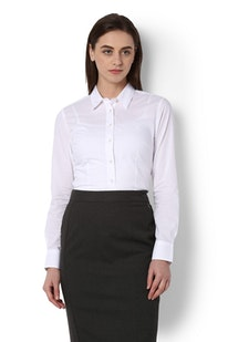 b29cd1ee2 Buy Van Heusen Women Shirts and Blouses Online | Vanheusenindia.com