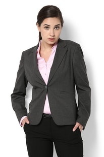 a4a95c6a6 Buy Van Heusen Suits and Blazers for Women Online | Vanheusenindia.com