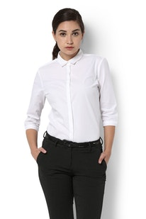 6a6664803d8 Buy Van Heusen Women Shirts and Blouses Online | Vanheusenindia.com