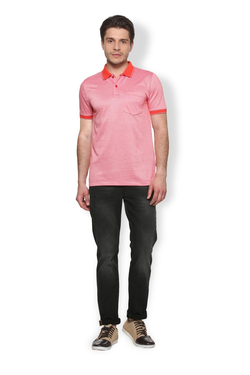 b94ca7184df Buy Van Heusen Men s T Shirt - Buy T Shirts Online