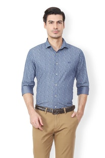 99787a4204bf74 Van Heusen Men Shirts - Buy Shirts for Men India | Vanheusenindia.com