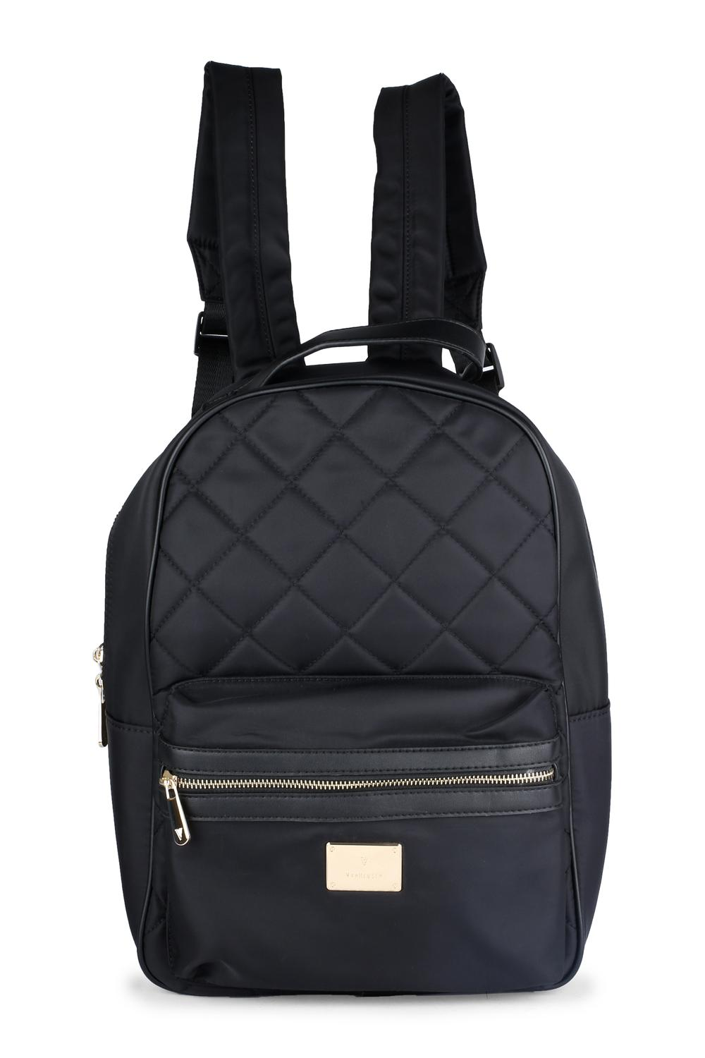 4a336275237 Van Heusen Woman Fashion Accessories, Van Heusen Black Backpack for Women  at Vanheusenindia.com