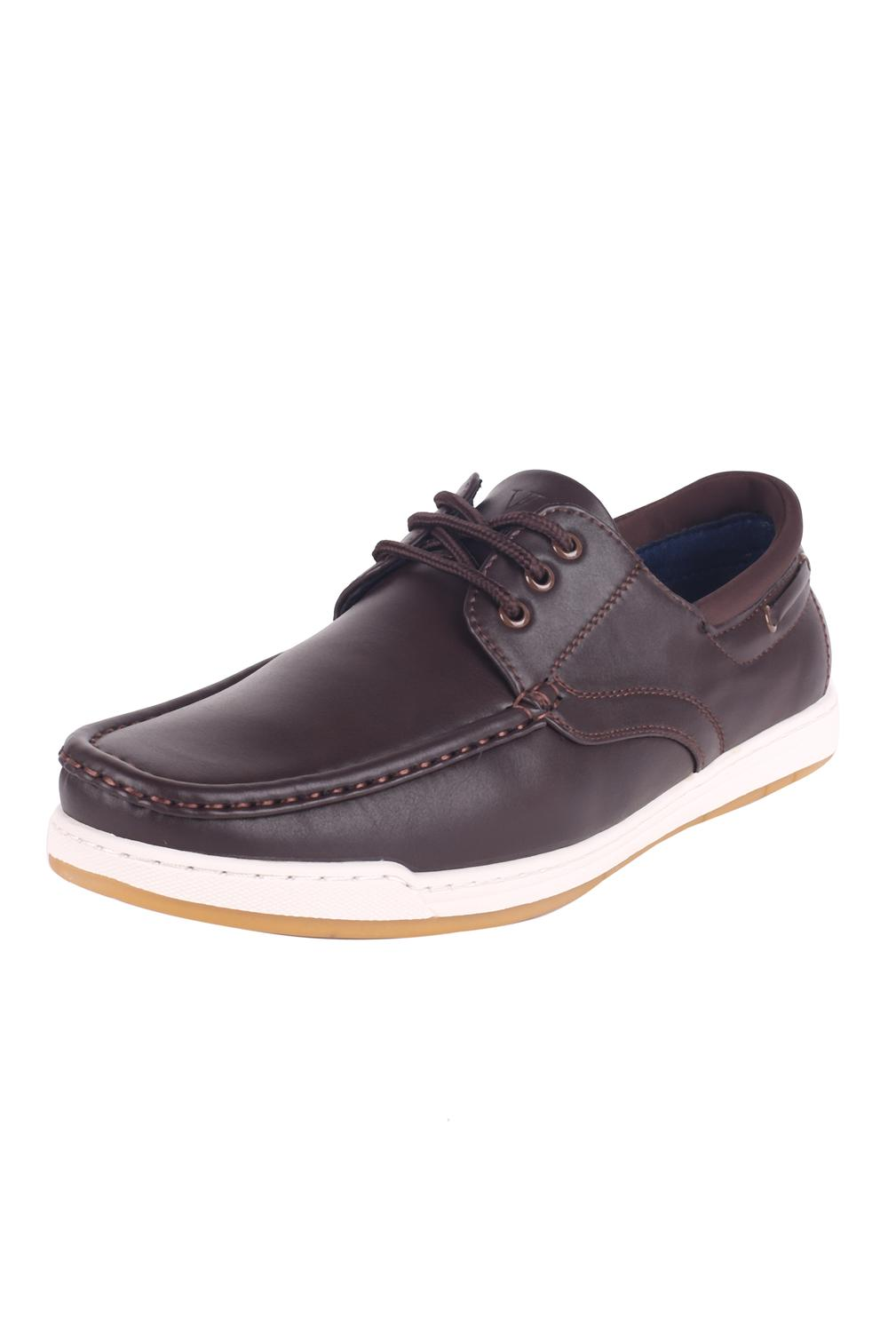 fb0bf3d93af0 V Dot Footwear, Van Heusen Brown Lace Up Shoes for Men at Vanheusenindia.com
