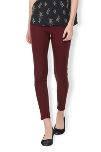 Van Heusen Trousers and Leggings for Women | Vanheusenindia com