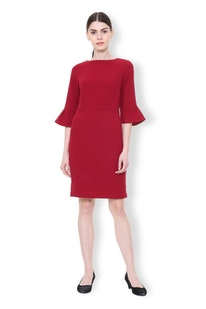 5bff77f0f151 Buy Van Heusen Women Dresses Online in India | Vanheusenindia.com